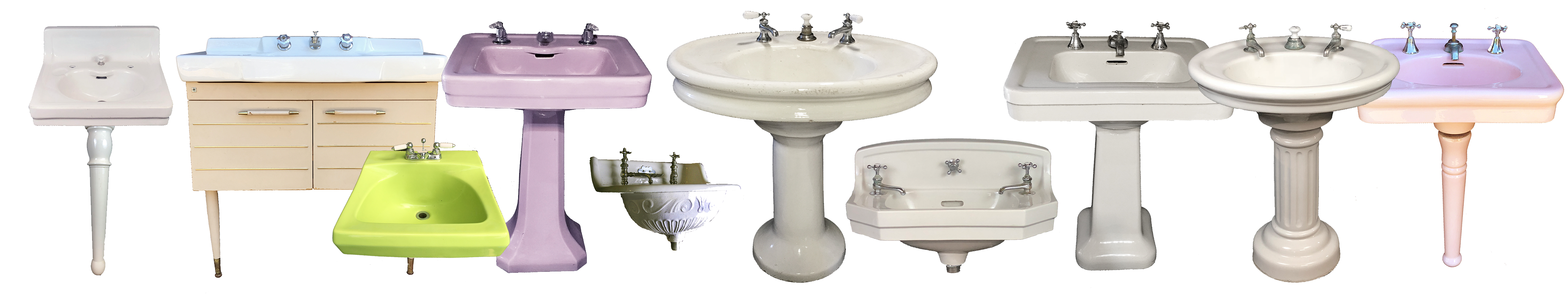 Picture of: The Period Bath Supply Company A Division Of Historic Houseparts Inc Antique Sinks Antique Pedestal Sinks