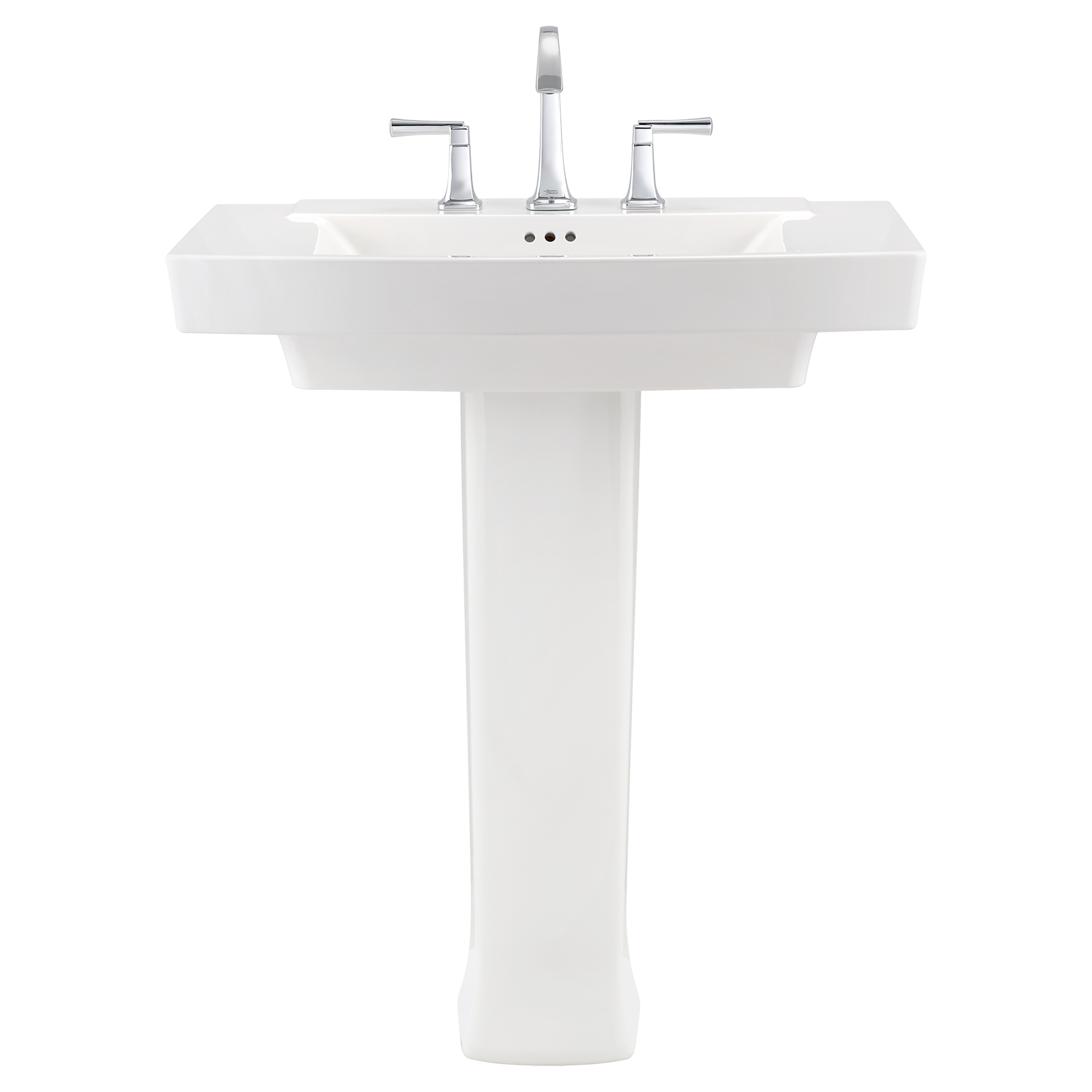 The Period Bath Supply Company A Division Of Historic Houseparts Inc Pedestal Sinks American Standard Townsend Pedestal Sink 4 Inch Centers White