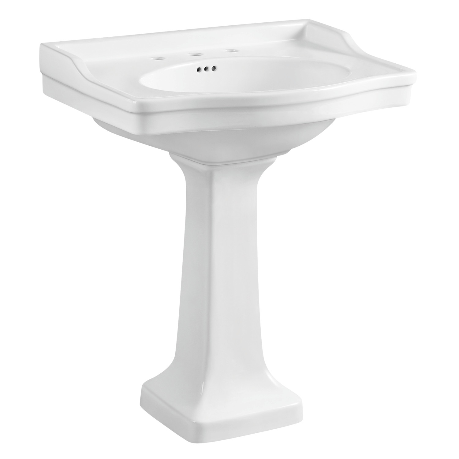 The Period Bath Supply Company A Division Of Historic Houseparts Inc Pedestal Sinks Classic 1920 S Style 30 Porcelain Pedestal Sink
